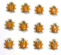 Cheap Wholesale-free shipping new 2014 Hot sell beetles gold floating charms for origami owl glass lockets FT-321