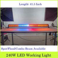 atv flash - 4pcs Newest W Cree LED Light Bar Off Road ATV LED Headlamp Inch Spot Flood Combo Beam Colorful Flash LED Lamps Bar Remote Control