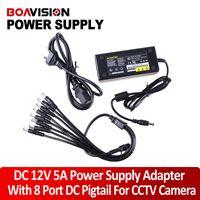 Wholesale 12V A Port CCTV Camera AC Adapter Power Supply Box For the camera