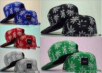 Wholesale Tidal hat HUF adjustable printing hat Snapback hip hop baseball cap hat hq l