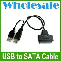 Wholesale SATA Pin Pin to USB Adapter Cable For HDD Laptop Hard Disk Drive