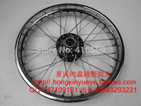 Wholesale Motorcycle rims steel before and after the and hole rims