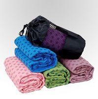 Wholesale Yoga Mat Towel Non slip Yoga Mat Yoga Blankets Widen Dedicated Special Yoga Towel Yoga Mat
