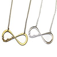 band sweaters - One Direction Necklaces UK Infinity The Band Pendant Necklaces Number Necklaces Chain Jewelry Sweater Necklace ZJ N51