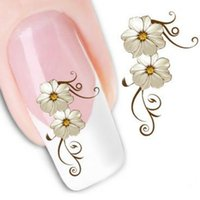 water nail decals - 1 Sheet Fashion Nail Wrap Water Transfer Nail Art Sticker Decal Flowers Designs Nail Water Decal