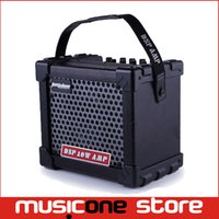 Wholesale AROMA TM W Digital Guitar Amp with Preset Sound and Effect modes with AUX in and Line out MU1239