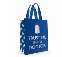 doctor bag - Doctor Dr Who Tote Shopping Bag quot Trust Me I m the Doctor quot Same Day Shipping