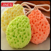 Wholesale 4pcs Eco friendly baby bath brushes bath sponge kids shower sponge products Infant Care Soft safe Foam Rub