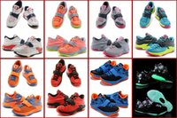 girls basketball shoes - 8 Colours New Air Kevin Durant KD VII Olympic USA Carnival Hyper Jade Volt K Youth Children Boys Girls Kids Basketball Sneakers Shoes