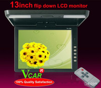 Wholesale BEIBEIKA inch car flip down Color TFT LCD Roof bus video monitor
