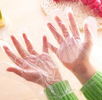 Wholesale Housework Cleaning Disposable Glove Household Cleaning Tools Sanitary DIY Safety Plastic Health edible film gloves gloves
