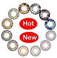 Wholesale Color contact lenses hot circle lenses fresh colors range of prescriptions ready stock