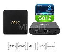android box app - M8C K Smart TV BOX Android Amlogic S812 Ghz Quad Core Bluetooth Kodi Loaded Google Store App D Movies Sports Channels Programs IPTV