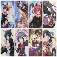 Wholesale 8pcs set Anime chuunibyou demo koi ga shitai Posters Paper Poster Wall Sticker Room Decoration X29cm
