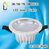 3w/5w/7w/9w No LED Best price T18 SMD5630 40W indoor lighting LED ceiling down light price China direct saling