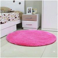 Wholesale Anti slip cm cm cm cm cm cm Thick Big Round Floor Carpets For Living Room Bathroom Circle Mat Rug A3