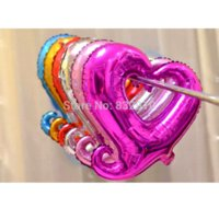 Wholesale 2015 NEW design Five colors foil balloons inflatable letters happy birthday foil balloons SET love to choose valentine