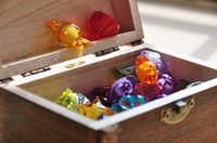 Wholesale mixed DIY jewerly in wooden box kids pay diy beads set wooden box Kids making DIY jewelry boy and girl news