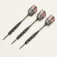 Wholesale 3pcs g Iron Barrel Darts Nice Carving Aluminium Alloy shaft dart flights