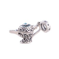 Silver aladdin charm bracelet - Aladdin and His Wonderful Lamp jewelry Silver bracelets for women Occasions sterling silver charms fit European Bracelets No90 X012