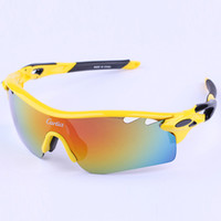 Wholesale 2015 men women cycling glasses uv400 outdoor sport bicycle sunglasses polarize carfia lock cycling eyewear bike riding goggles