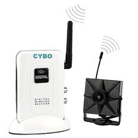 audio video surveillance system - 2 GHz home Wireless CCTV Security Digital Wireless Transmitter Mini video audio Camera wifi surveillance Systems Kits