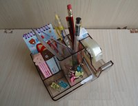 Wholesale Fashion Creative Novelty Pencil Holders Multi Functional Desk Organizer Stationery Organizer Stationey Holders for Office School Supplies