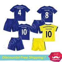 chelsea - kids Chelsea Jerseys Chelsea FC Children Soccer Jersey Home Away DIEGO COSTA HAZARD DROGBA Children football shirts