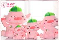 nova chegada 25 centímetros Free shiping, 35 centímetros, 45 centímetros, 55 centímetros, 65 centímetros boneca porco mascote peppa dom boneca linda rosa para amigos childern recheado de brinquedos de pelúcia