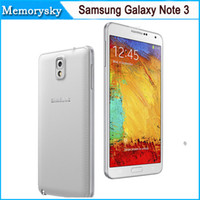 note 3 phone - Original Refurbished Unlocked Samsung Galaxy Note III N9500 Phone LTE WCDMA Quad Core G G P Quad core In stock