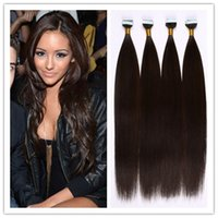 Wholesale PU Skin Weft Tape In Glue Hair Extensions Fusion Hair Extention G Piece Pack G In STOCK