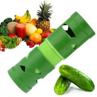 Wholesale New Arrive Fruit Vegetable Tools Spiralizer Graters Multifunctional Slicers Green Cutter Peelers Kitchen Accessories Green Hot Sell