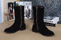 Wholesale New boots in the round head inside the warm velvet size to