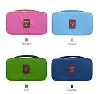 Wholesale Multifunctional Travel Organizer Bag Underwear Bra Storage Pouch Portable Wash Bag