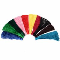 Wholesale New Arrival Muliti Color cm Silky Cotton Tassel Curtains Cushion Crafts Card DIY Fringe Accessories Tool