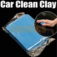 Cheap Best Price Blue Practical Magic Car Clean Clay Bar Auto Detailing Cleaner Cleaning Kit ,free shipping &drop shipping A5