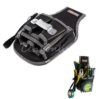 Wholesale New Arrival in1 Electricians Waist Pocket Tool Belt Pouch Bag Screwdriver Carry Case Holder Outdoor Working Convenient