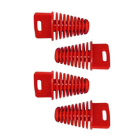 Wholesale Big RED ZXTD Exhaust Pipe Muffler Silencer Stroke Plug for Motorbike