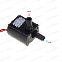 Wholesale LAI145 Ultra quiet Mini DC V Micro Brushless Water Oil Pump Submersible L H W Lift M
