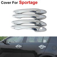 Wholesale 4pcs Door Handle For KIA Sportage th Accessories Car Styling Fashion Stickers Cover ABS