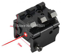 Cheap Compact Mini Red Dot Laser Sight With Detachable Picatinny Rail For Pistol Air-gun Rifle Free Shipping