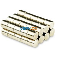 Wholesale 50pcs N50 mm x mm Super Strong Round Disc Cylinder Magnets Rare Earth Neodymium order lt no track