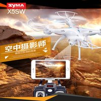 Wholesale The real time transmission of toys SYMA genuine X5SW C Sima aerial aircraft four aircraft WiFi mobile phone