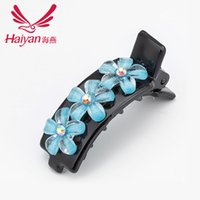acrylic clip manufacturers - Supplying manufacturers acrylic hairpin hairpin Korean female fashion diamond edge clip clip with mixed batch
