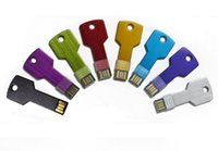 Wholesale New Metal USB flash drive High Quality Key Design GB GB GB upgrading USB Flash Memory Pen Drive Stick Thumb U disk