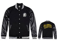 Cheap Fall-USA hip hop clothing fashion brands BILLIONAIRE BOYS CLUB BBC ice cream baseball jerseys colorful leather sleeve jackets hoodies