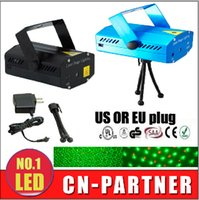 Wholesale Take sample cost price mW Green Red Laser Blue Black Mini Laser Stage Lighting DJ Party Stage Light Disco Dance Floor Lights
