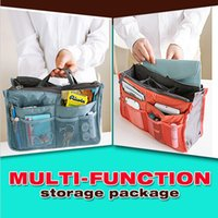 Wholesale Quality Handbag travel storage bags Cosmetic Bags Cases Pouch Bag in Bag Organiser Insert Organizer Tidy Travel Cosmetic Pocket