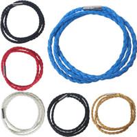 best magnetic bracelet for men - Fashion Punk Bracelet For Men Women Weaven Leather Magnetic Bracelet Mix Colors best quality free ship