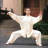 Wholesale multicolor Cotton and artificial silk Tai Chi exercises Clothing kong fu master costume